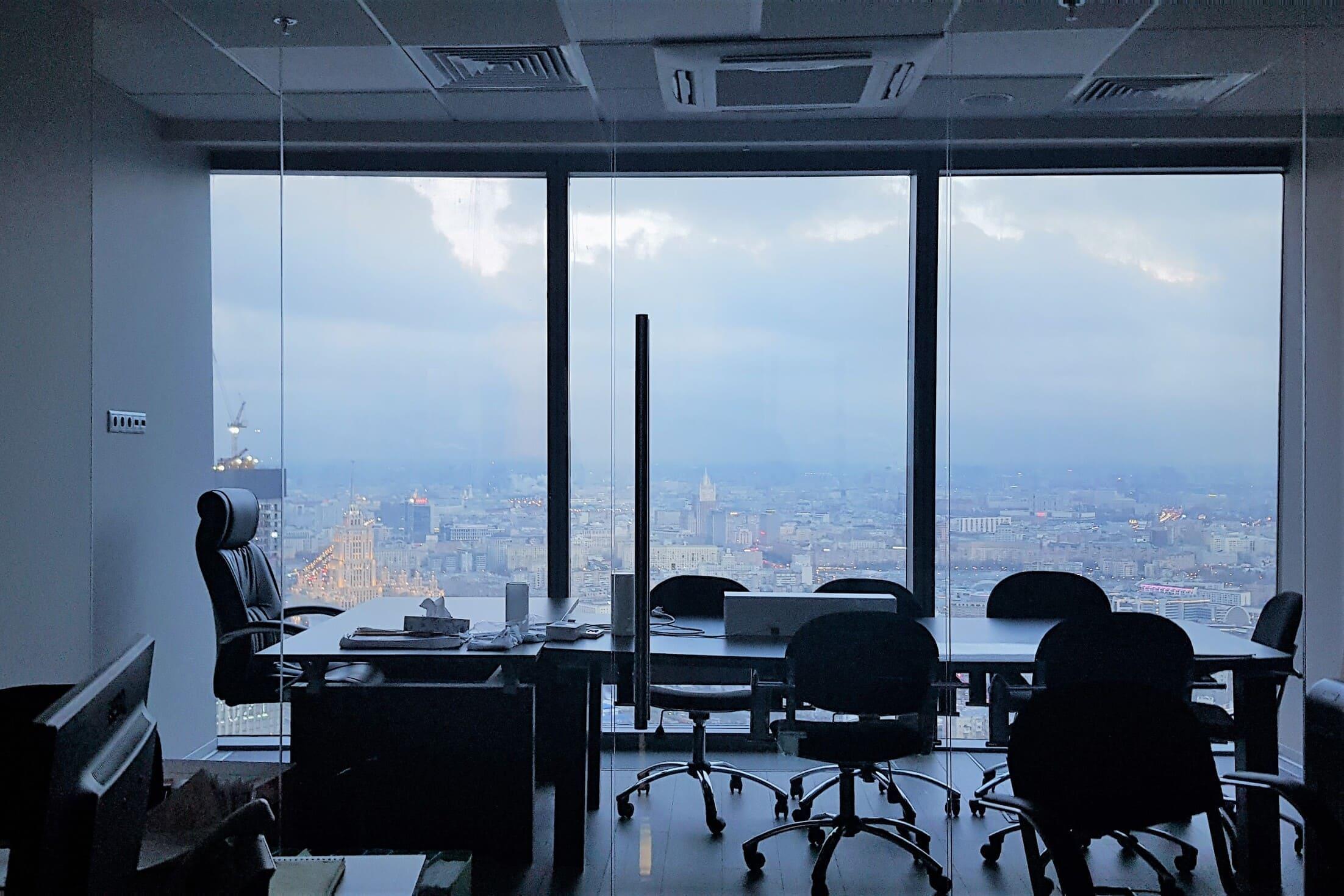 Аренда и продажа офисов Москва Сити башня федерация запад